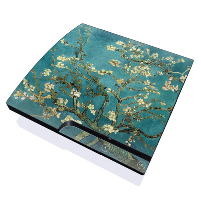 PS3 Slim Skin - Blossoming Almond Tree