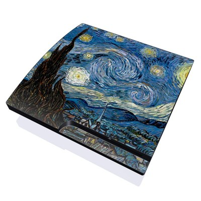 PS3 Slim Skin - Starry Night