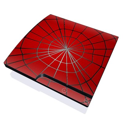 PS3 Slim Skin - Webslinger