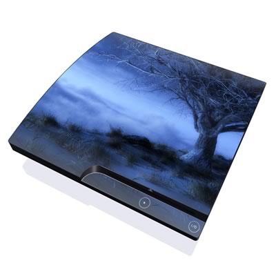 PS3 Slim Skin - World's Edge Winter