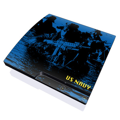 PS3 Slim Skin - Water Heist
