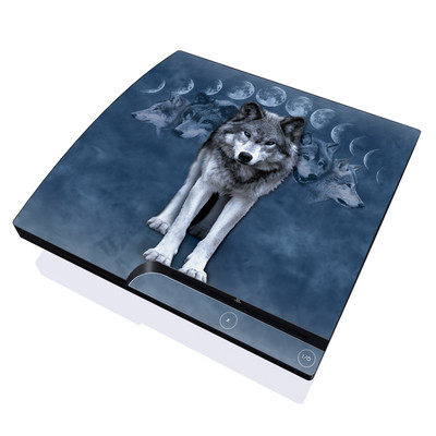 PS3 Slim Skin - Wolf Cycle