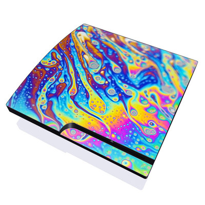PS3 Slim Skin - World of Soap