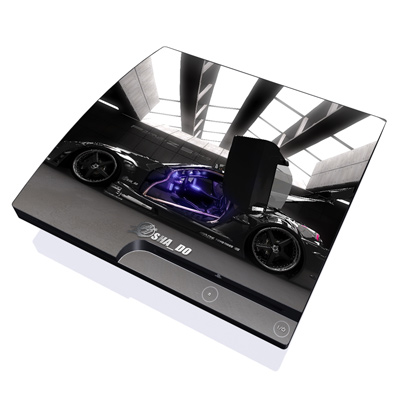 PS3 Slim Skin - Z33 Dark