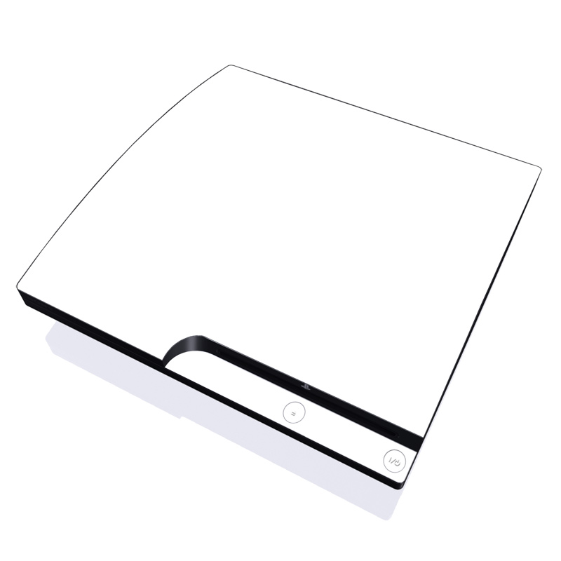 Ps3 Slim Skin Solid State White By Solid Colors Decalgirl