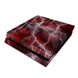 Sony PS4 Skin - Apocalypse Red