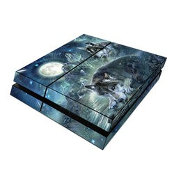 Sony PS4 Skin - Bark At The Moon