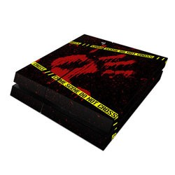 Sony PS4 Skin - Crime Scene