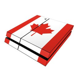 Sony PS4 Skin - Canadian Flag