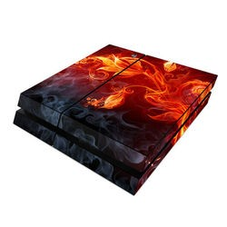 Sony PS4 Skin - Flower Of Fire