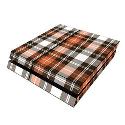 Sony PS4 Skin - Copper Plaid