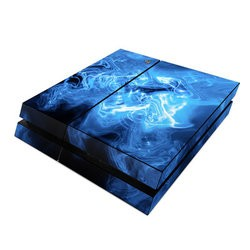 Sony PS4 Skin - Blue Quantum Waves