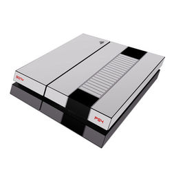 Sony PS4 Skin - Retro Horizontal