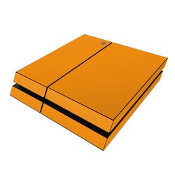 Sony PS4 Skin - Solid State Orange