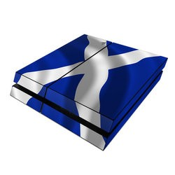 Sony PS4 Skin - St. Andrew's Cross