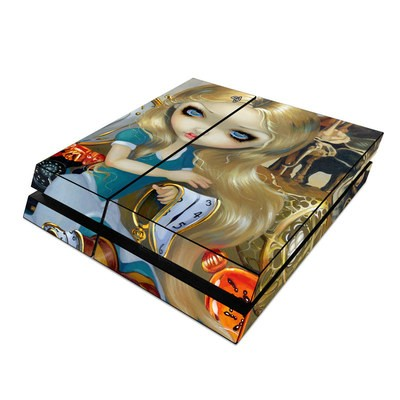 Sony PS4 Skin - Alice in a Dali Dream