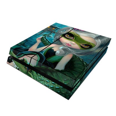 Sony PS4 Skin - Alligator Girl