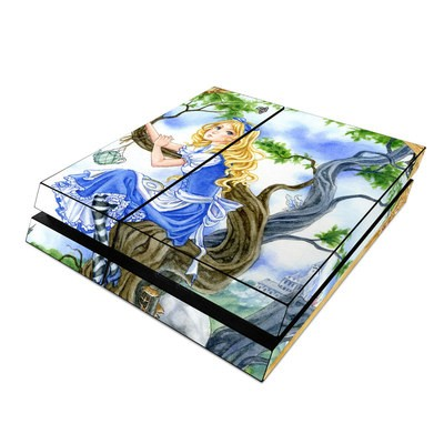 Sony PS4 Skin - Alice's Tea Time