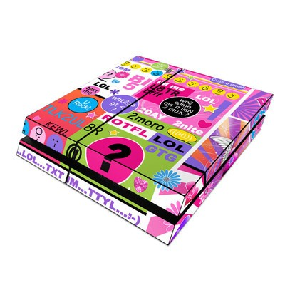 Sony PS4 Skin - BFF Girl Talk