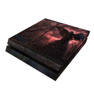 Sony PS4 Skin - Black Angel