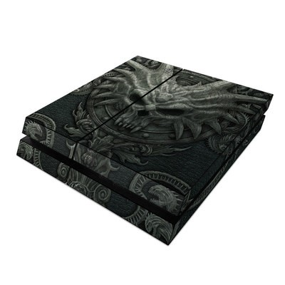 Sony PS4 Skin - Black Book