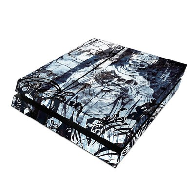 Sony PS4 Skin - Black Mass