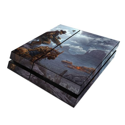 Sony PS4 Skin - Bounty Hunter