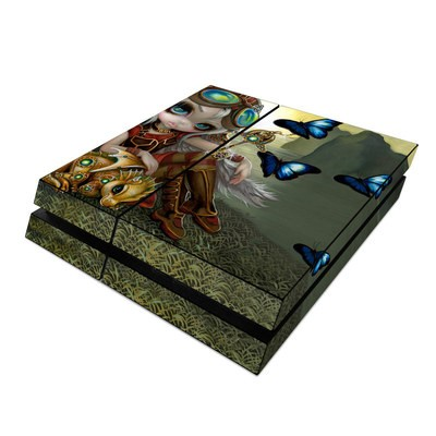 Sony PS4 Skin - Clockwork Dragonling