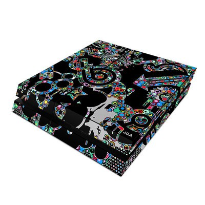 Sony PS4 Skin - Circle Madness