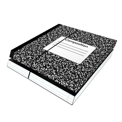 Sony PS4 Skin - Composition Notebook