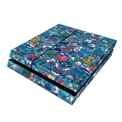 Sony PS4 Skin - Cosmic Ray