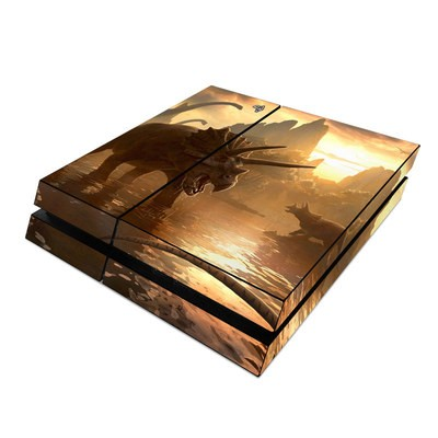 Sony PS4 Skin - Cretaceous Sunset