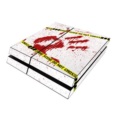 Sony PS4 Skin - Crime Scene Revisited