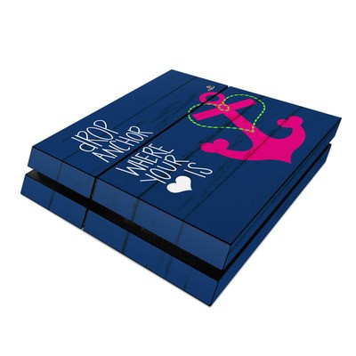 Sony PS4 Skin - Drop Anchor