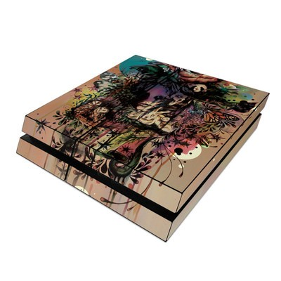 Sony PS4 Skin - Doom and Bloom