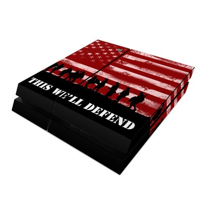Sony PS4 Skin - Defend