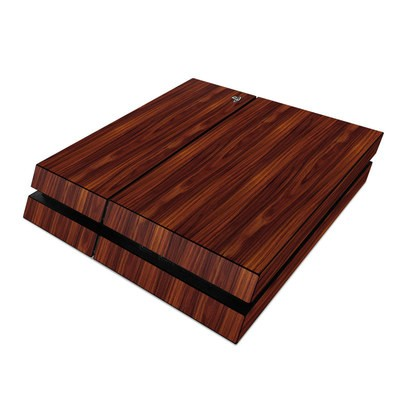 Sony PS4 Skin - Dark Rosewood