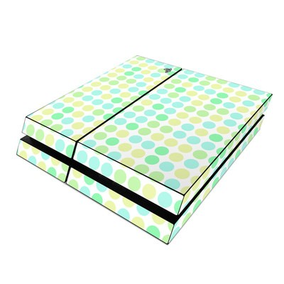 Sony PS4 Skin - Big Dots Mint