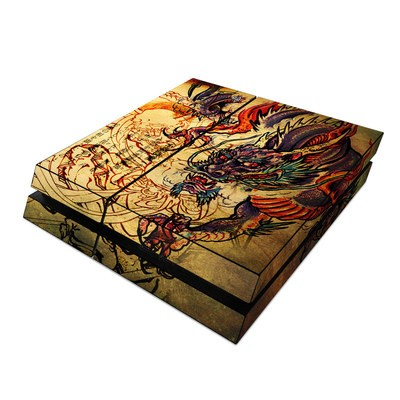 Sony PS4 Skin - Dragon Legend