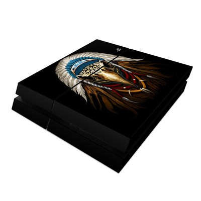 Sony PS4 Skin - Eagle Skull