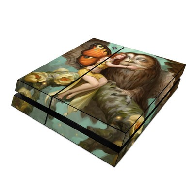 Sony PS4 Skin - Fairy and Owl