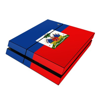 Sony PS4 Skin - Haiti Flag