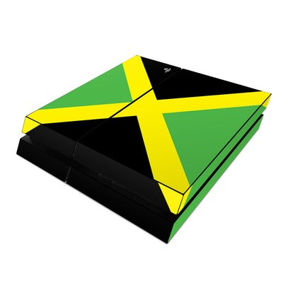 Sony PS4 Skin - Jamaican Flag