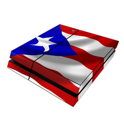 Sony PS4 Skin - Puerto Rican Flag