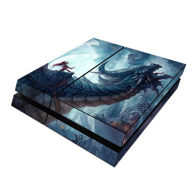 Sony PS4 Skin - Flying Dragon