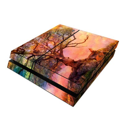 Sony PS4 Skin - Fox Sunset