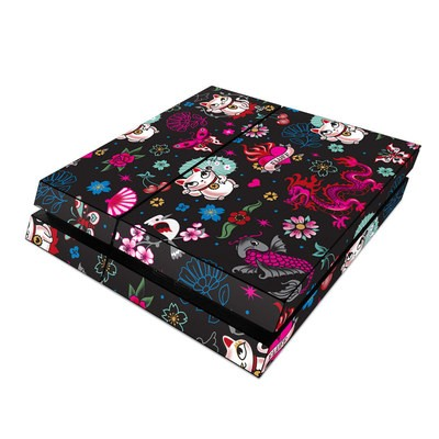 Sony PS4 Skin - Geisha Kitty