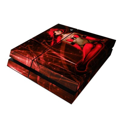 Sony PS4 Skin - Ghost Red