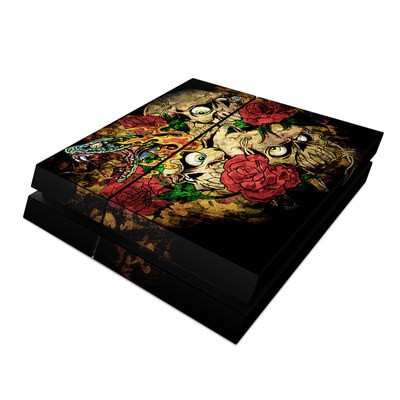 Sony PS4 Skin - Gothic Tattoo