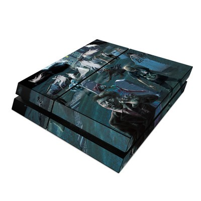 Sony PS4 Skin - Graveyard
